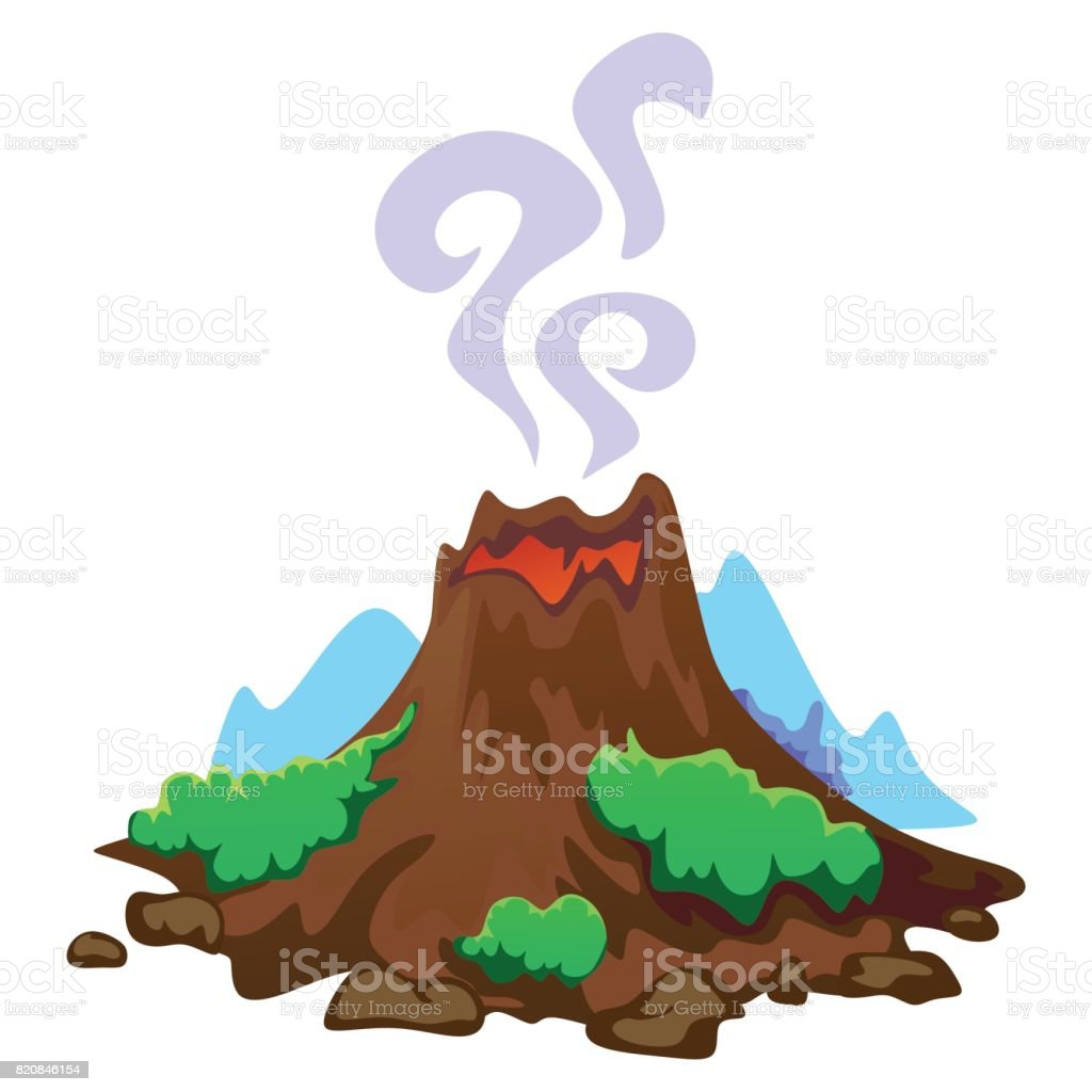 royalty free volcanic rock clip art vector images illustrations rh istockphoto com clipart volcano erupting clipart volcano black and white