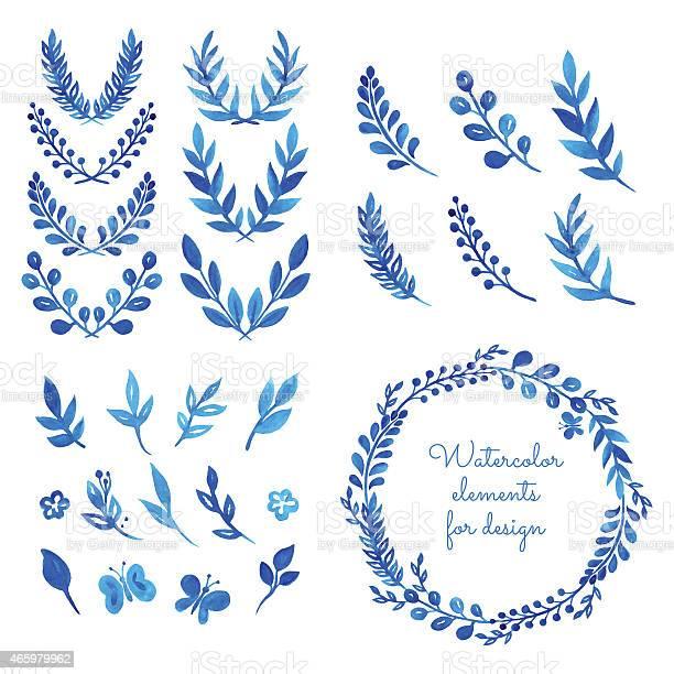 Set of watercolor wreaths and laurels vector id465979962?b=1&k=6&m=465979962&s=612x612&h=wecxajo0htvqw4t5sscjpkwqj5mtcxttgssoevsqg0y=