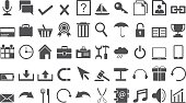 Set of web icons , vector illustration