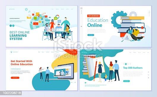 Modern vector illustration concepts for website and mobile website development.