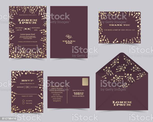 Set of wedding invitation card templatebabys breath collection vector id810798416?b=1&k=6&m=810798416&s=612x612&h=6xgkgbpx54ymuzxkxfvub4soucjb0prpsrn8090vieu=