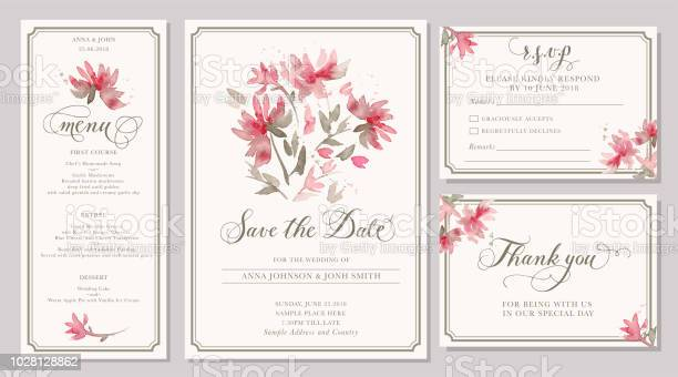 Wedding Invitation Template Vector Design Download Free