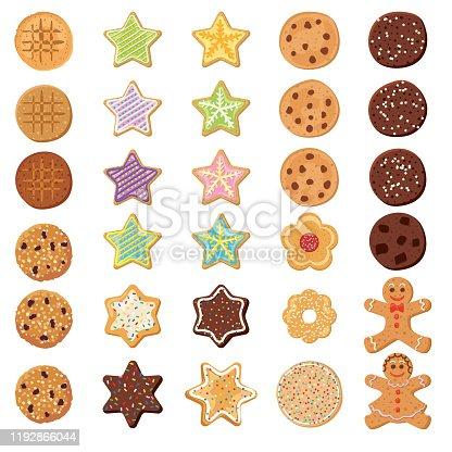 istock Set Og Homemade Cookies 1192866044