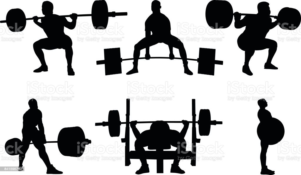 royalty free powerlifting clip art vector images illustrations rh istockphoto com powerlifting clipart free Powerlifting Quotes