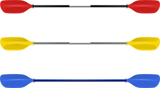 Set Professional canoe oars