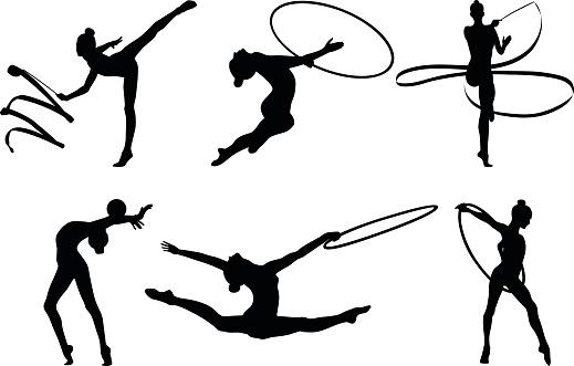 set rhythmic gymnastics
