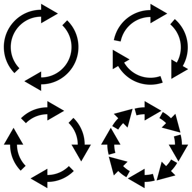 Set sign reload refresh icon, spinning arrows in circle, vector symbol sync, renewable crypto currency exchange, change renew vector Set sign reload refresh icon, spinning arrows in a circle, vector symbol sync, renewable crypto currency exchange, change renew vector new life stock illustrations
