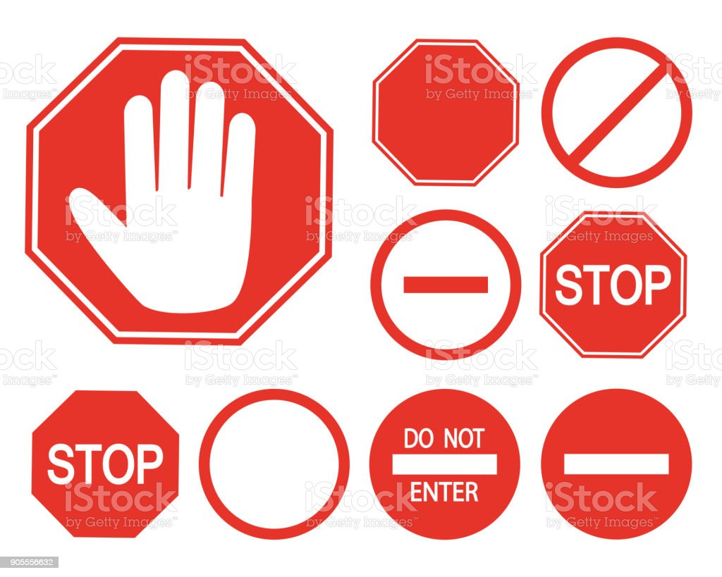 Set: Stop, staff only
