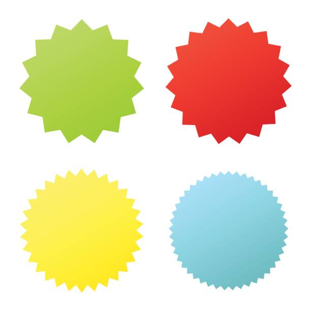 Set sunburst badges. Set sunburst badges. Collection Star label. Different starburst isolated on white background. Vector illustration. Eps 10 celebrities stock illustrations