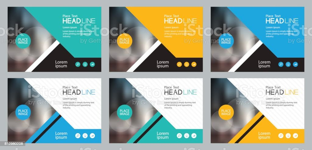set template design for social media and web banners background, with use in presentation,brochure,book cover layout,flyers vector art illustration