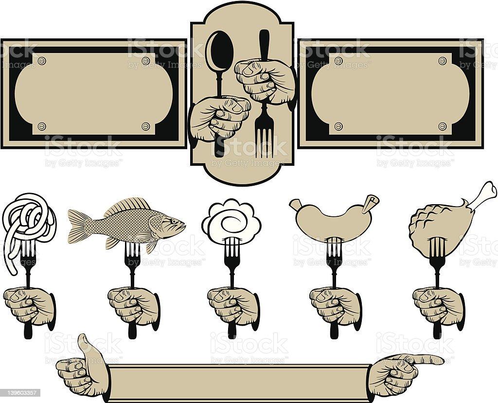 set to menu royalty-free set to menu stock vector art & more images of breakfast