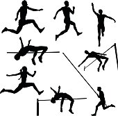 Free download of Track and Field Event vector graphics and
