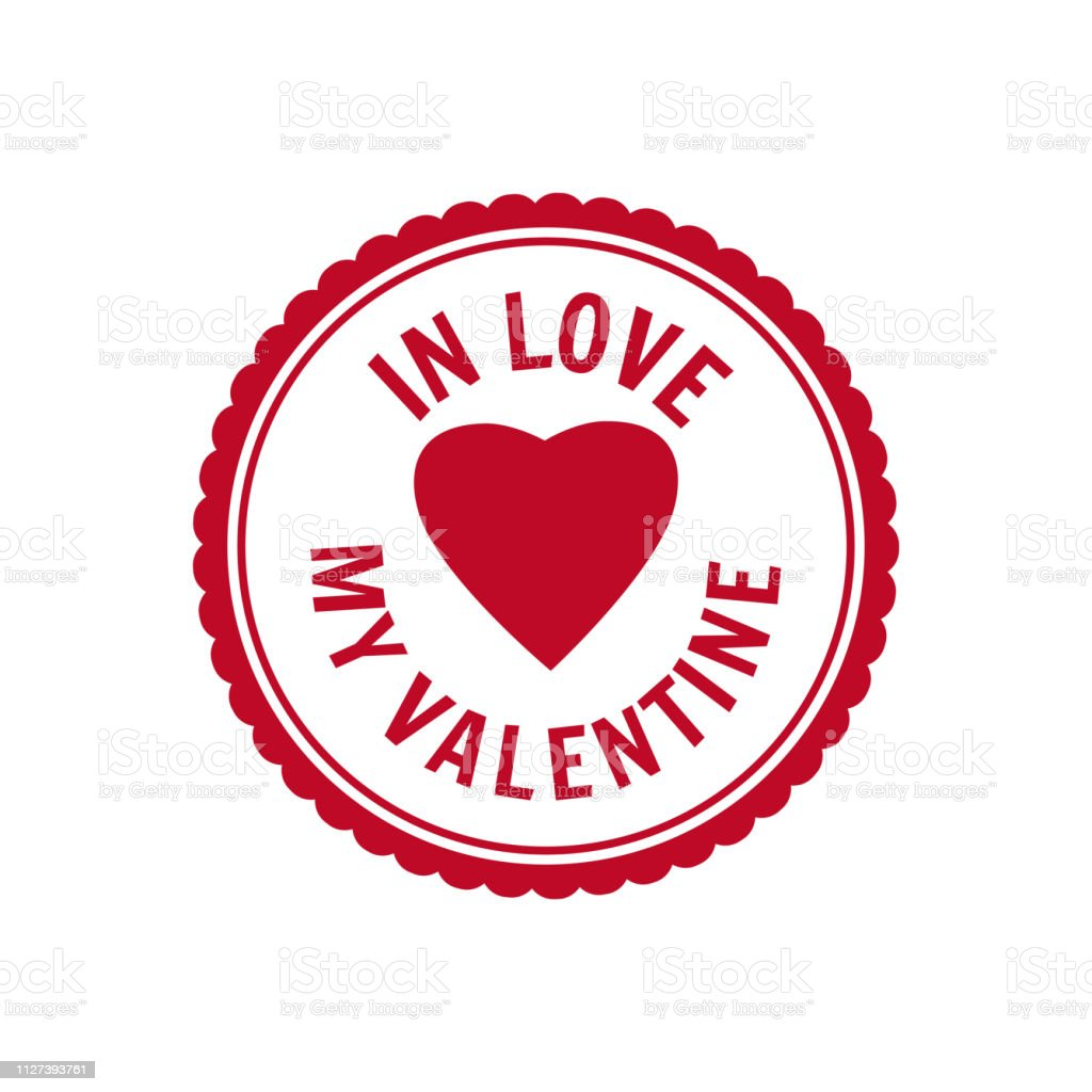 Set Valentine S Day And Wedding Romantic In Love Postage