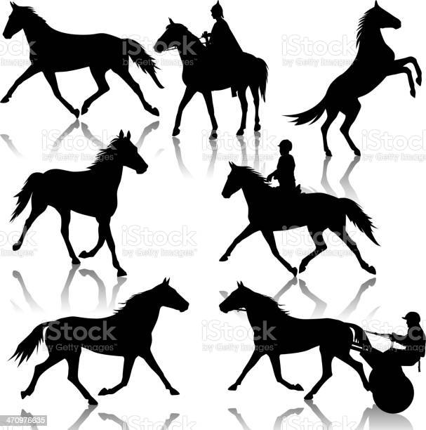 Set vector silhouette of horse and jockey vector id470976635?b=1&k=6&m=470976635&s=612x612&h=8wj3xvjs5f gclcego8gnh4cqaw cn7a6eiqdzyl4r0=