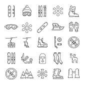 set winter icon
