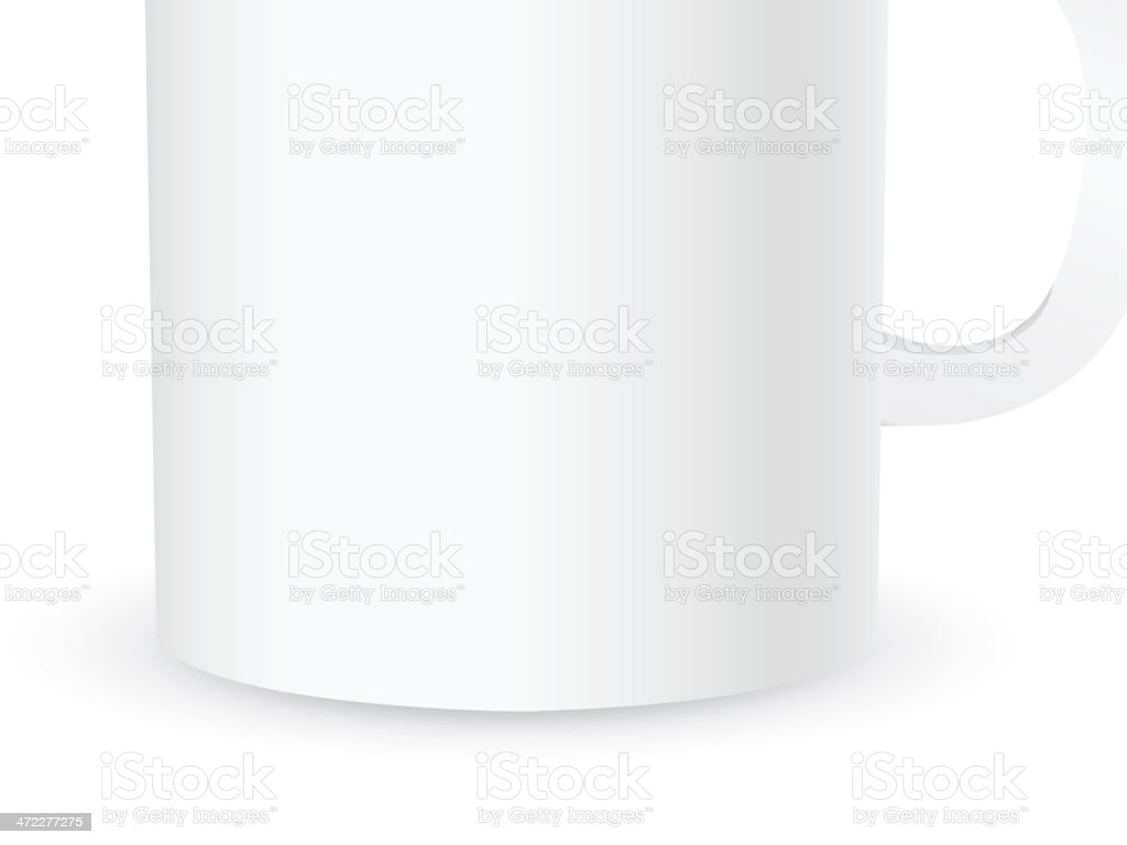 Set with cups royalty-free stock vector art