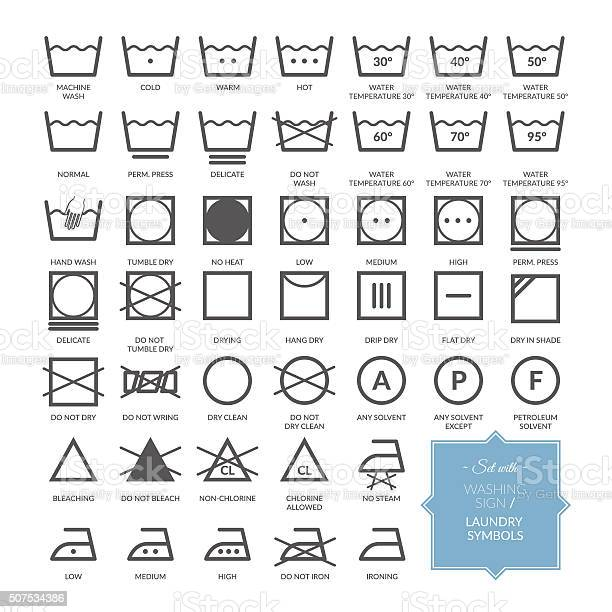 Set with thin line washing icons and laundry symbols vector id507534386?b=1&k=6&m=507534386&s=612x612&h=ao bbbjgdnyxmybw9dnhkosgwgemtrkf9ure ohqsd0=