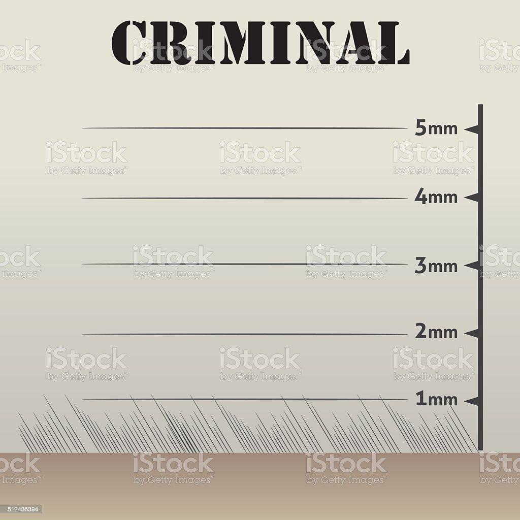 Rahmen Oder Hintergrund Anerkennung Verdächtigen An Der ...