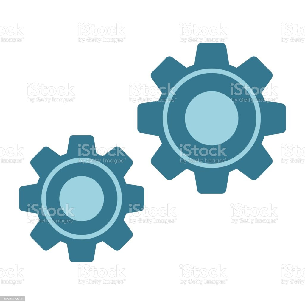 Settings flat icon, cogwheels and website button, vector graphics, a colorful solid pattern on a white background, eps 10. royalty-free settings flat icon cogwheels and website button vector graphics a colorful solid pattern on a white background eps 10 stock vector art & more images of azerbaijan