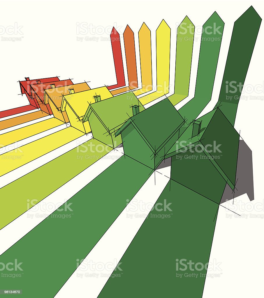seven houses royalty-free seven houses stock vector art & more images of architecture