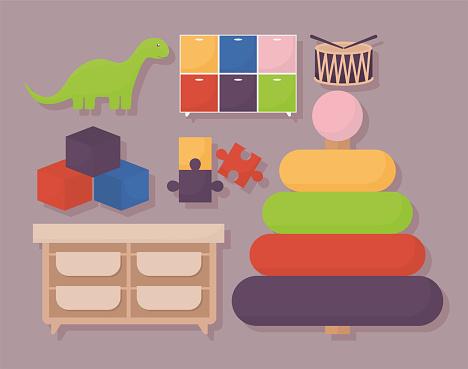 seven toys design