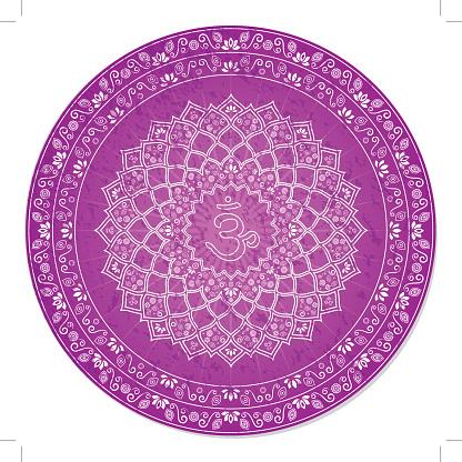 Seventh Chakra Decorative