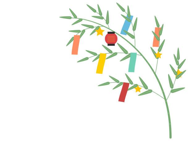 7月第7夜の日本語 - 七夕点のイラスト素材/クリップアート素材/マンガ素材/アイコン素材