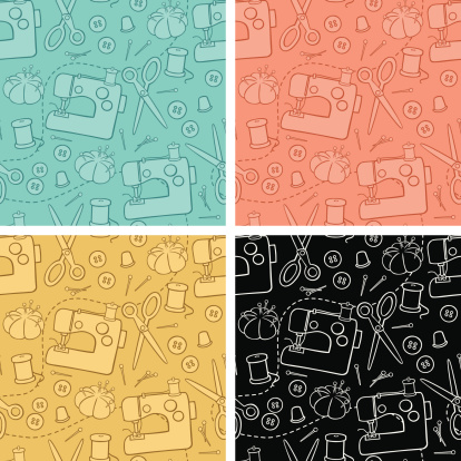 Sewing Background Pattern