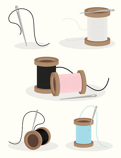 Royalty Free Spool Thread Clip Art, Vector Images & Illustrations ...