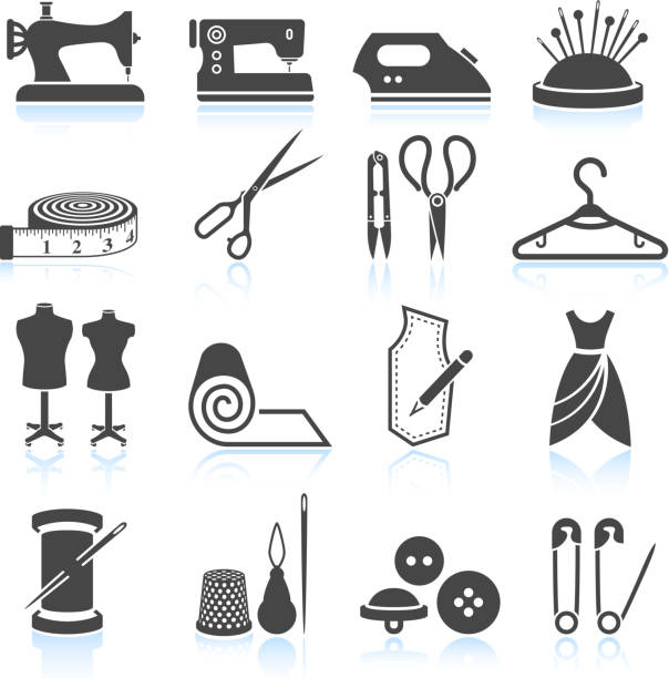Royalty Free Sewing Machine Clip Art, Vector Images ...