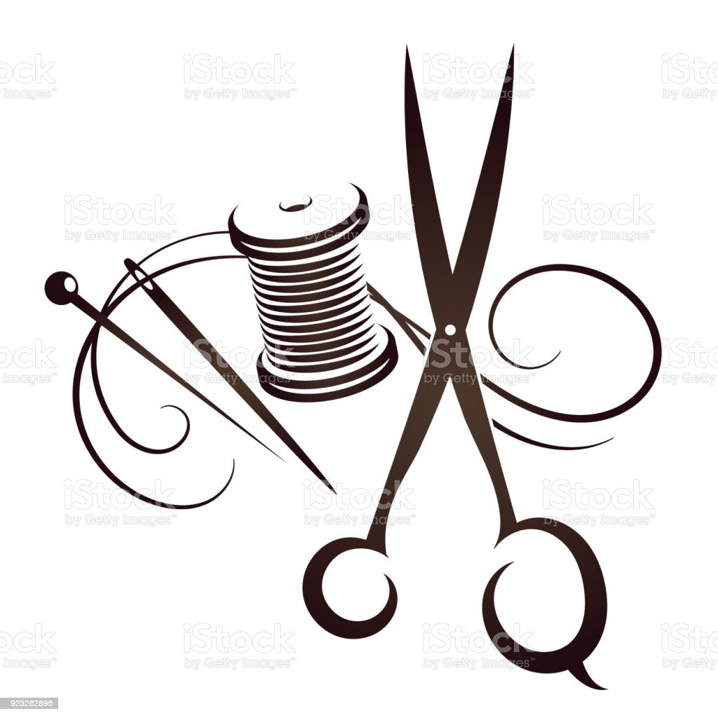 Sewing Vector Set Stock Illustration - Download Image Now ...