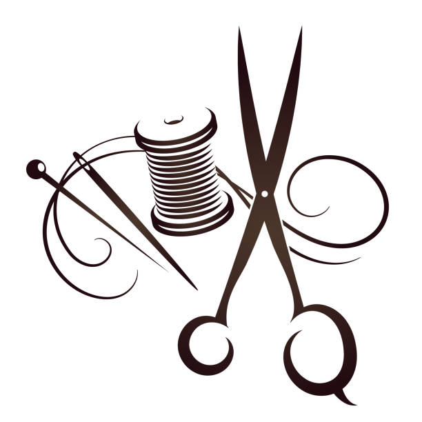 Sewing Needle Illustrations, Royalty-Free Vector Graphics ...