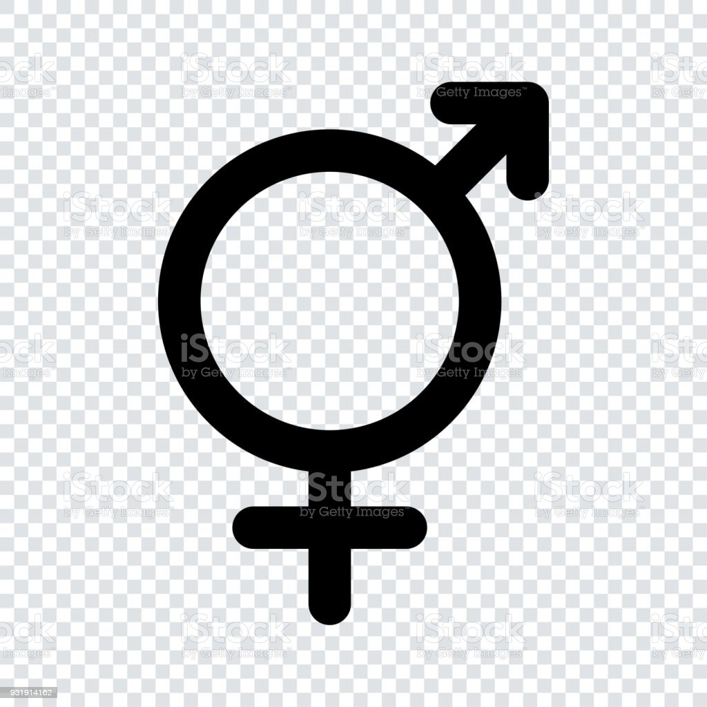 Sex Icons Male And Female Signs Gender Symbols Stock Vector Art