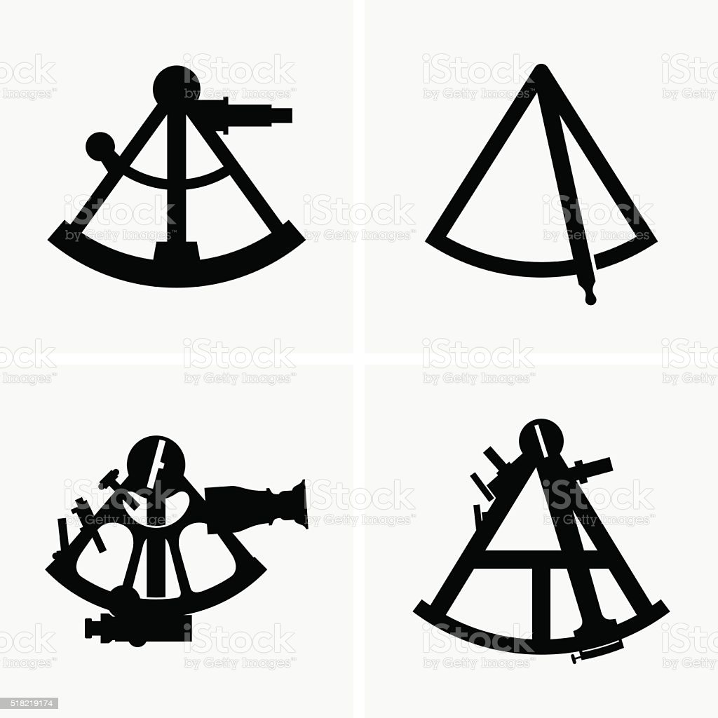 Royalty Free Sextant Clip Art  Vector Images