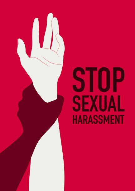 ilustraciones, imágenes clip art, dibujos animados e iconos de stock de hombre abuso sexual atacando a una mujer asustada - dureza