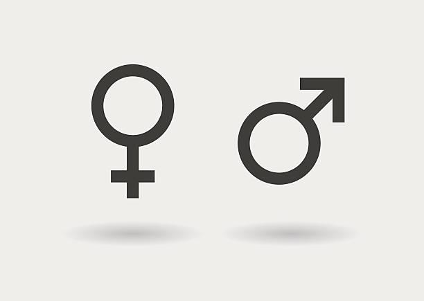 ilustraciones, imágenes clip art, dibujos animados e iconos de stock de simbols sexual icono de - fémina