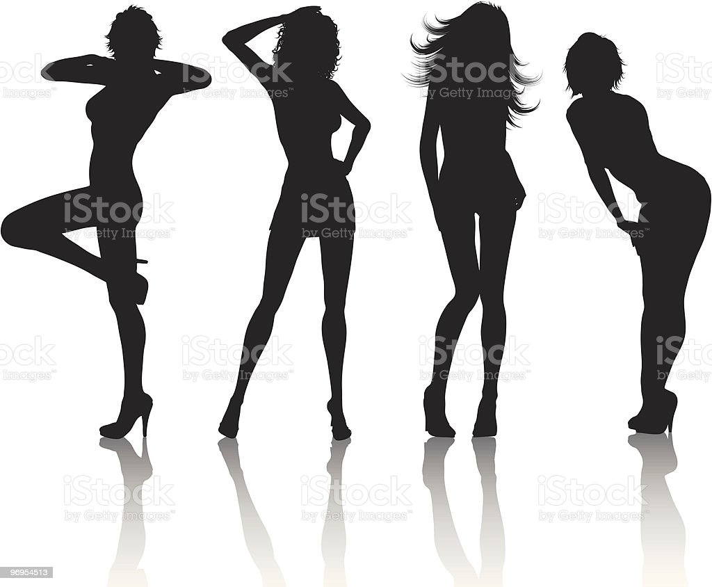Sexy females royalty-free sexy females stock vector art & more images of adult