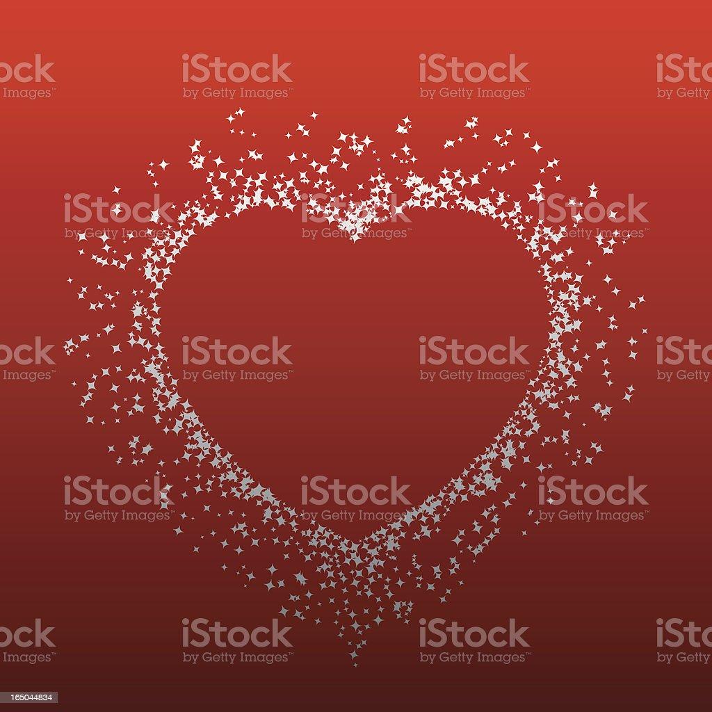 Sexy Heart Burst royalty-free stock vector art