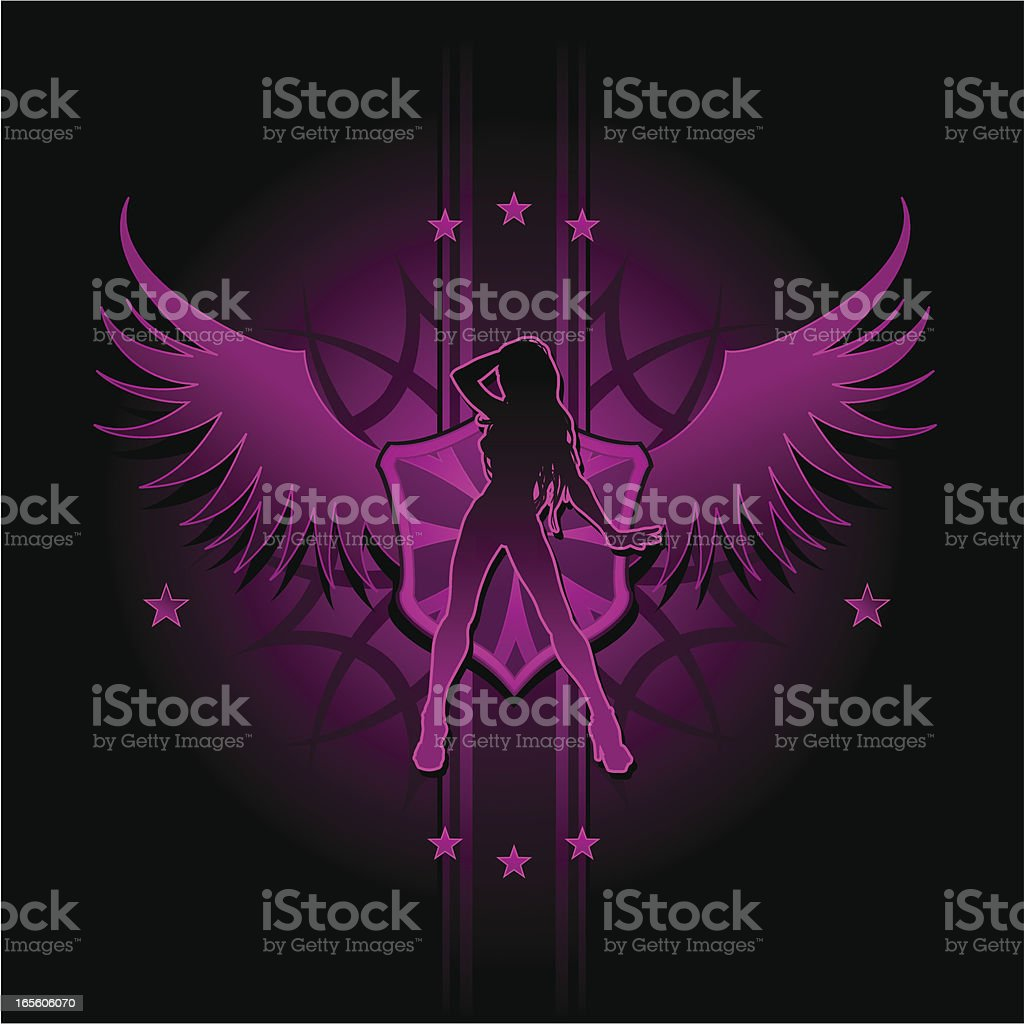 Sexy Pink Crest royalty-free sexy pink crest stock vector art & more images of adult