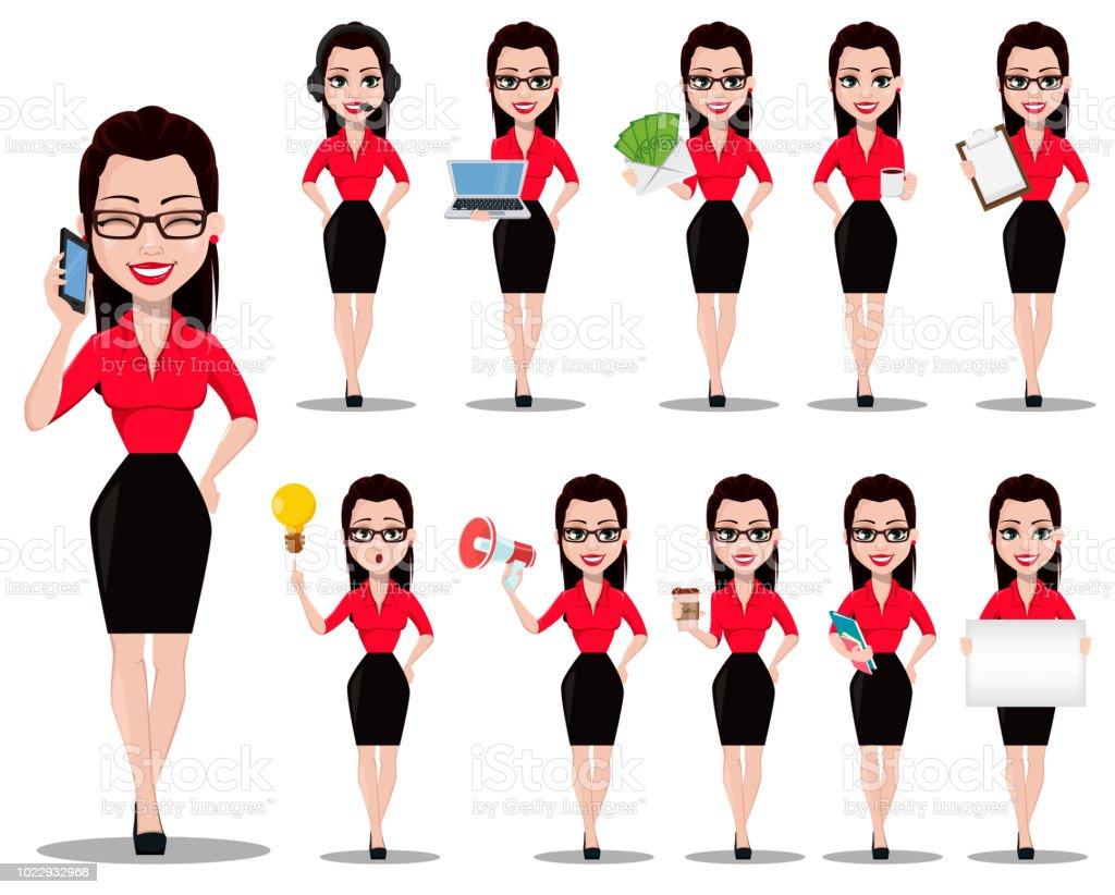 Free Sexy Secretary Pics sexy secretary beautiful office assistant stock illustration