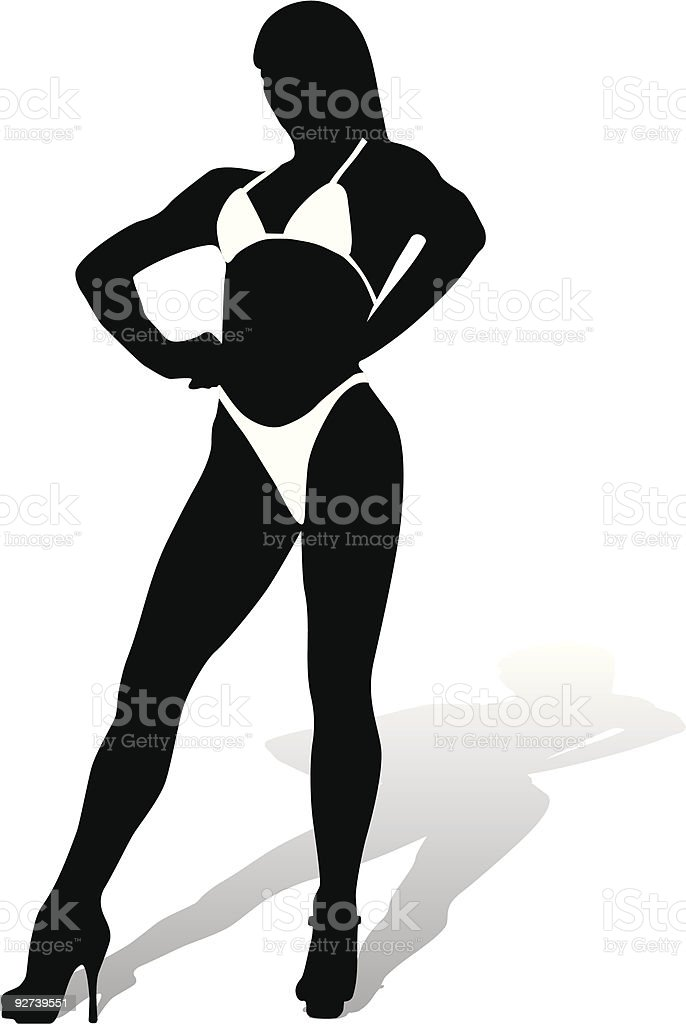 sexy woman royalty-free stock vector art