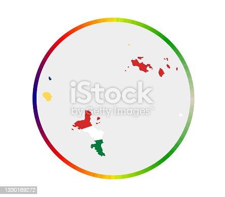 istock Seychelles icon. 1330189272