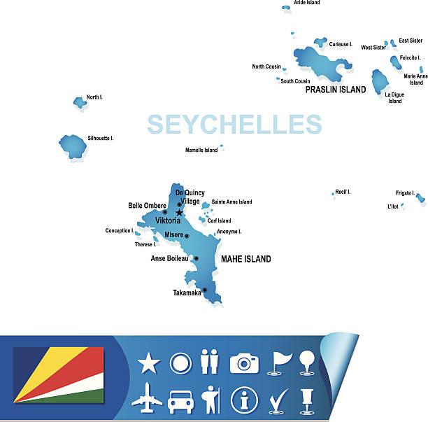 Seychellen Malediven Karte.Seychellen Stock Vektoren Und Grafiken Istock
