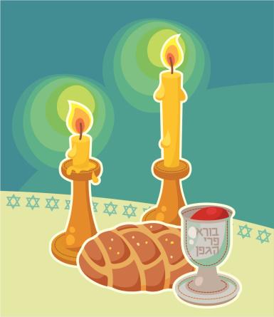 Shabbat table accessories