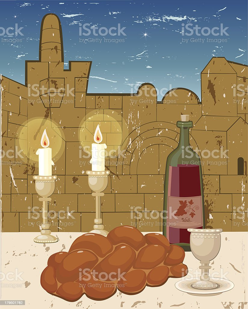 Shabbath royalty-free shabbath stock vector art & more images of bible