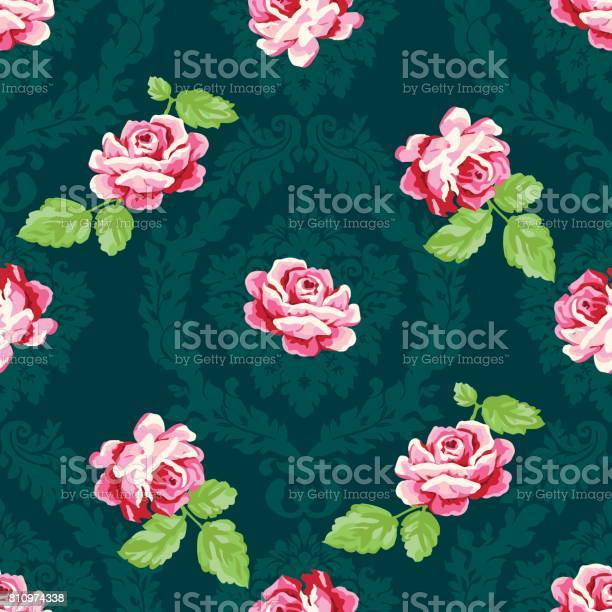 Shabby chic rose damask pattern vector seamless vintage floral vector id810974338?b=1&k=6&m=810974338&s=612x612&h=pspy9yj5mqhr8onou8gofgy9grzk35yabshbp8qg6pi=