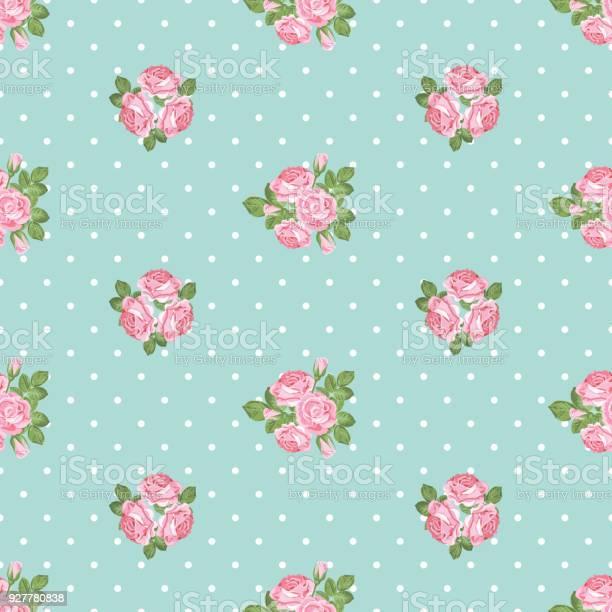 Shabby chic rose seamless pattern on polka dot background vector id927780838?b=1&k=6&m=927780838&s=612x612&h=eiijjc3ag7p72sug81xouxzr4kysxiiiz1amxuc 95u=