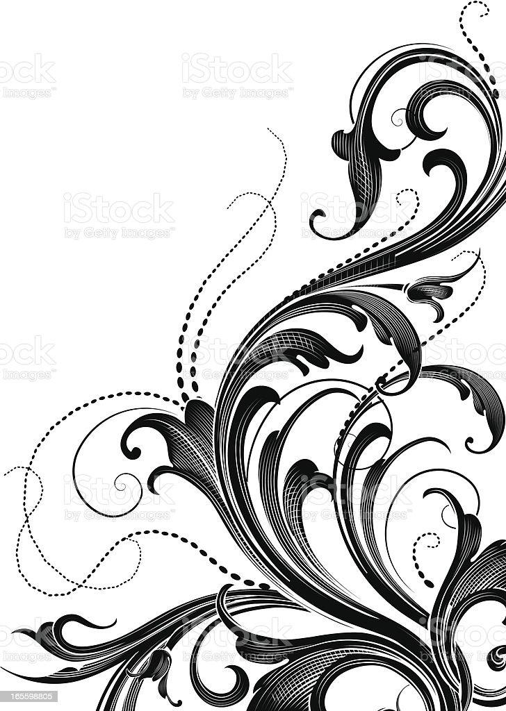 Sombreado Arabesque Edge ilustração de sombreado arabesque edge e mais banco de imagens de antiguidade royalty-free