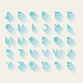 istock Shadow alphabet 481084089