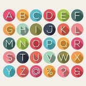 Shadow alphabet